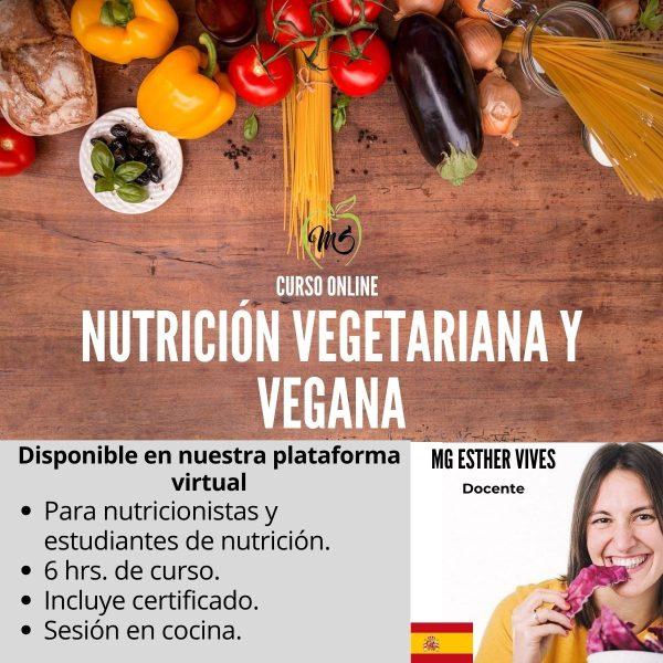 Curso de nutrición vegetariana y vegana